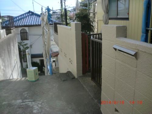 川崎市麻生区:門塀塗装後