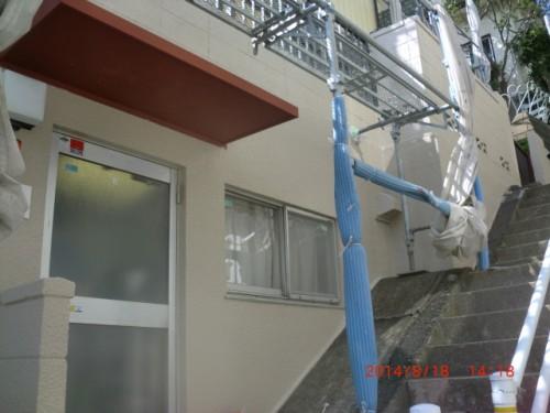 川崎市麻生区:外壁塗装完了2