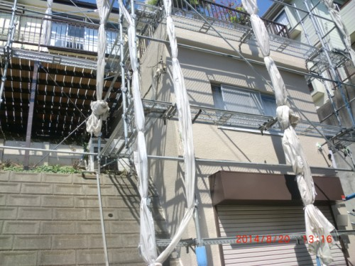 川崎市麻生区:塗装後の外壁
