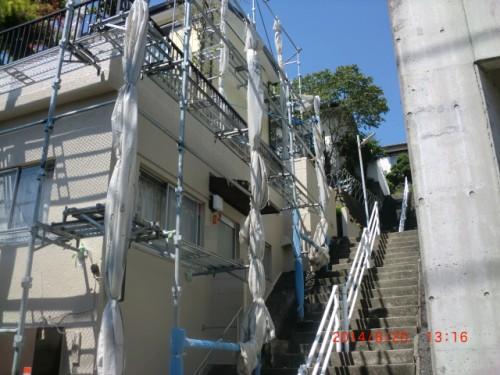 川崎市麻生区:塗装後の外壁2