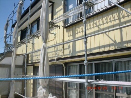 川崎市麻生区:トタン外壁塗装後