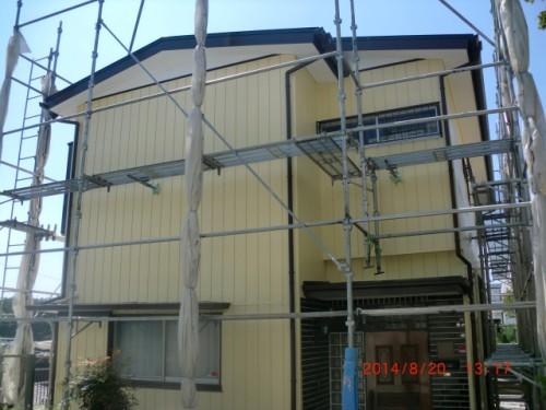 川崎市麻生区:塗替え後の外壁