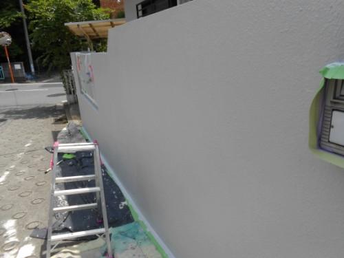横浜市旭区:門塀塗装後