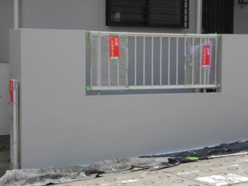 横浜市旭区:ペンキ塗りたての張り紙