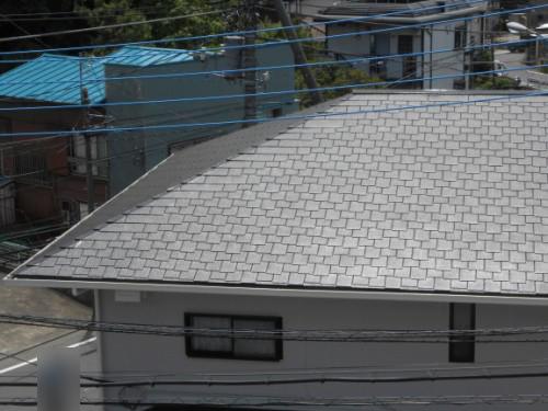 横浜市旭区:アーバニー屋根塗装後
