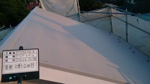 町田市本町田:屋根塗装完了