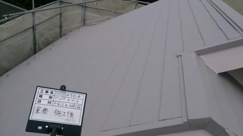 町田市本町田:屋根塗装後