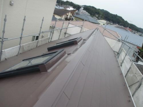 逗子市桜山:屋根塗装後