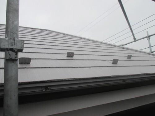 町田市本町田:塗装後の屋根