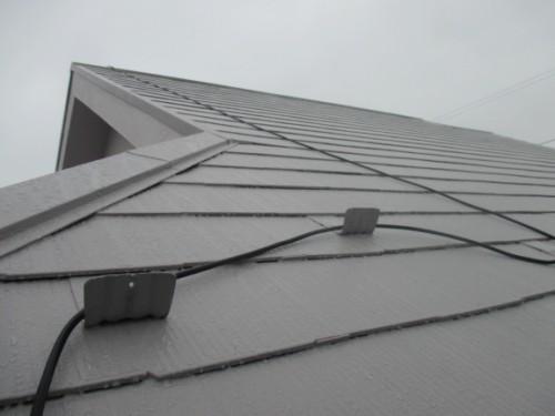 町田市本町田:塗装後の屋根2
