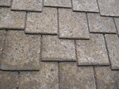 横浜市旭区:洗浄前のアーバニー屋根