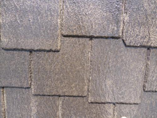 横浜市旭区:高圧洗浄後の屋根