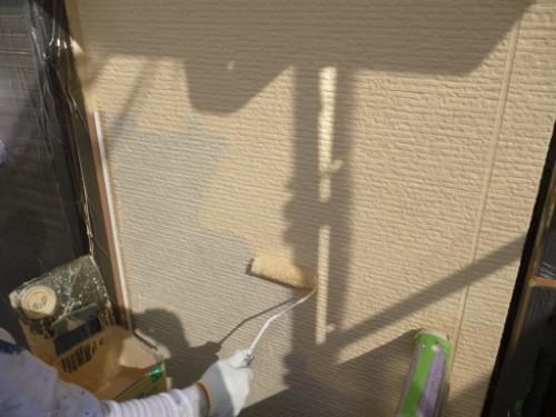 川崎市宮前区:外壁上塗り
