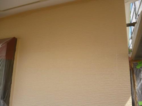 川崎市宮前区:外壁上塗り後