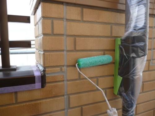 川崎市宮前区:外壁クリヤー塗装