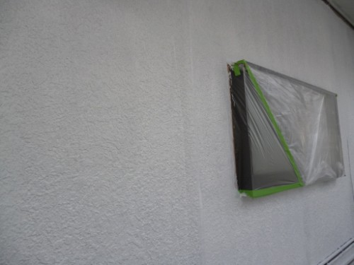横浜市旭区:外壁下塗り完了後