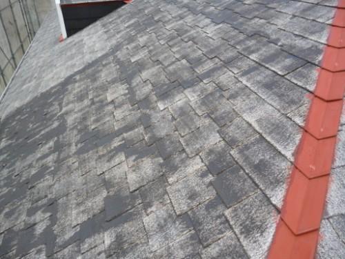 横浜市旭区:屋根下塗り後