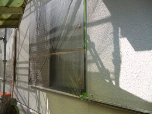 横浜市旭区:外壁中塗り後