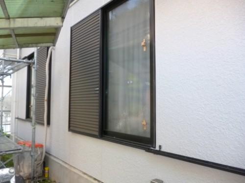 横浜市旭区:外壁上塗り、養生剥がし後