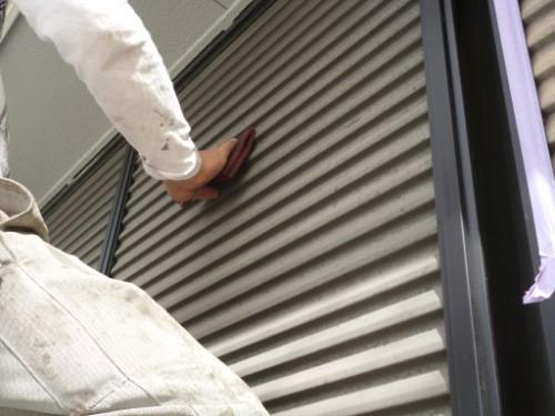 横浜市旭区:雨戸ケレン