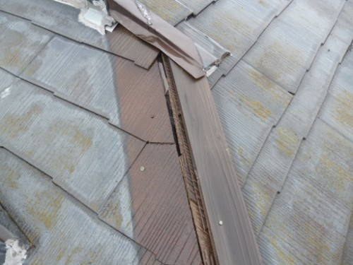 東京都大田区:雨押さえのない屋根