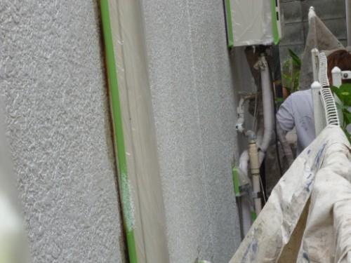 東京都大田区:外壁下塗り
