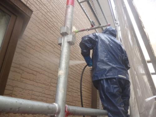 横浜市保土ヶ谷区:サイディング外壁洗浄