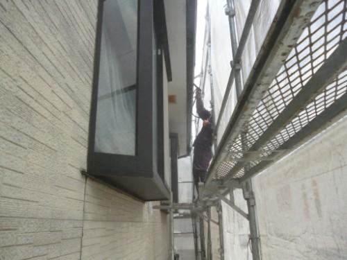 相模原市中央区:樋の洗浄