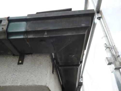 相模原市中央区:補修後の雨樋
