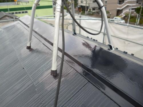 相模原市中央区:屋根上塗りダメ込み