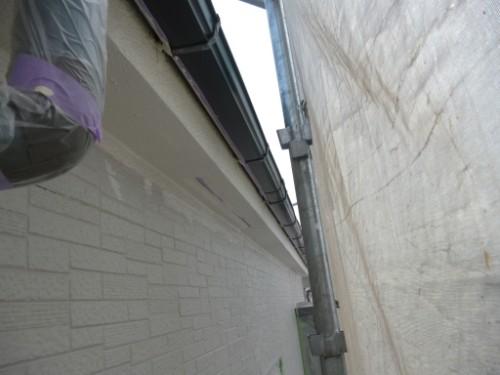 相模原市中央区:軒上塗り後