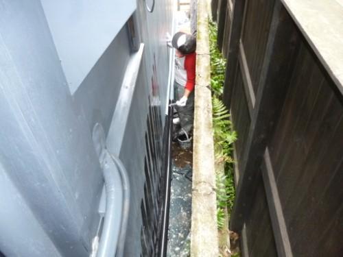横浜市旭区:羽目板中塗り2