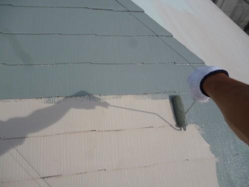 横浜市瀬谷区:屋根上塗り