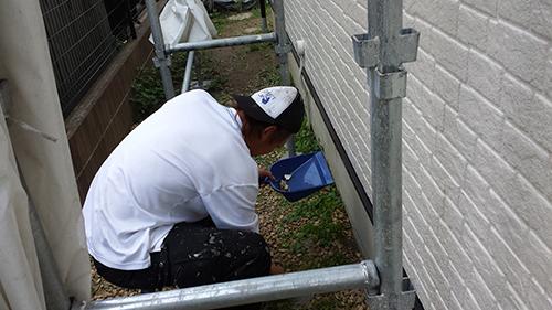 2013年6月29日 稲城市にて外壁塗装:ゴミ拾い