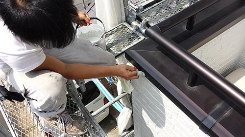 2013年6月29日 稲城市にてウェスでの掃除
