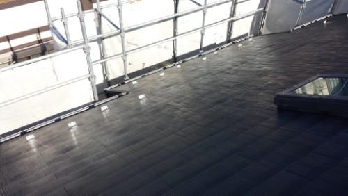 2013年11月26日 都筑区谷山邸:屋根洗浄後