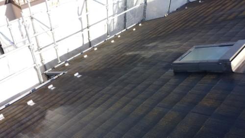 2013年11月26日 都筑区谷山邸:屋根洗浄前