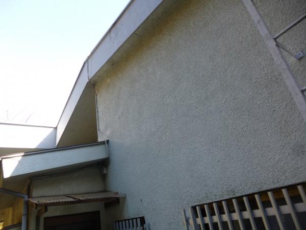 モルタルスタッコの外壁