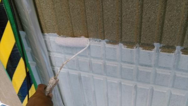 ALC外壁塗装完成