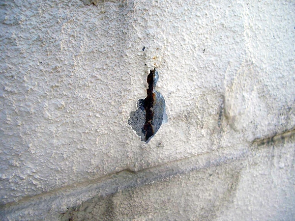 RC鉄筋コンクリート住宅塗装 塗膜の剥離と爆裂