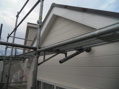 逗子市桜山:外壁上塗り後2