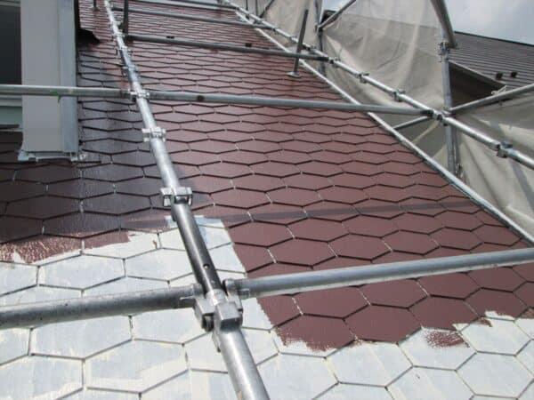 付帯塗装山盛り。戸塚区の外壁と屋根塗装。