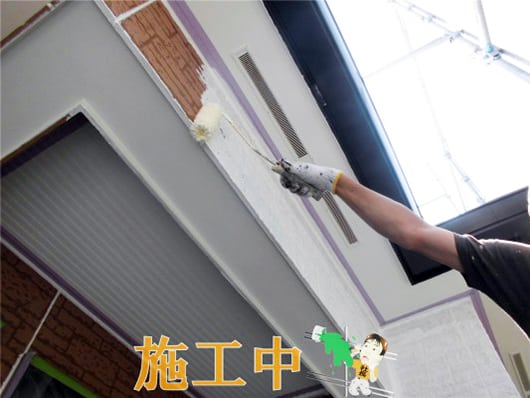 藤沢市で模様サイディング塗装