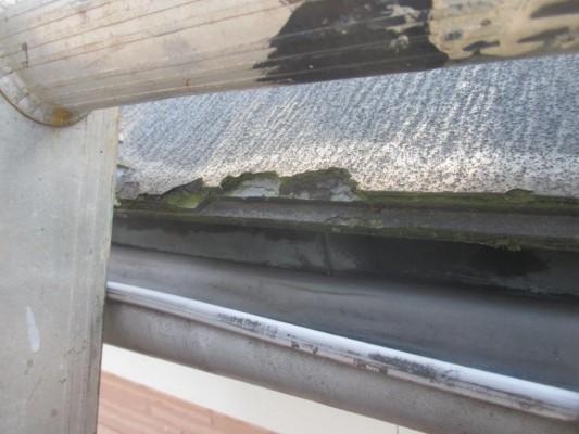 地上から見てもわからない屋根の劣化