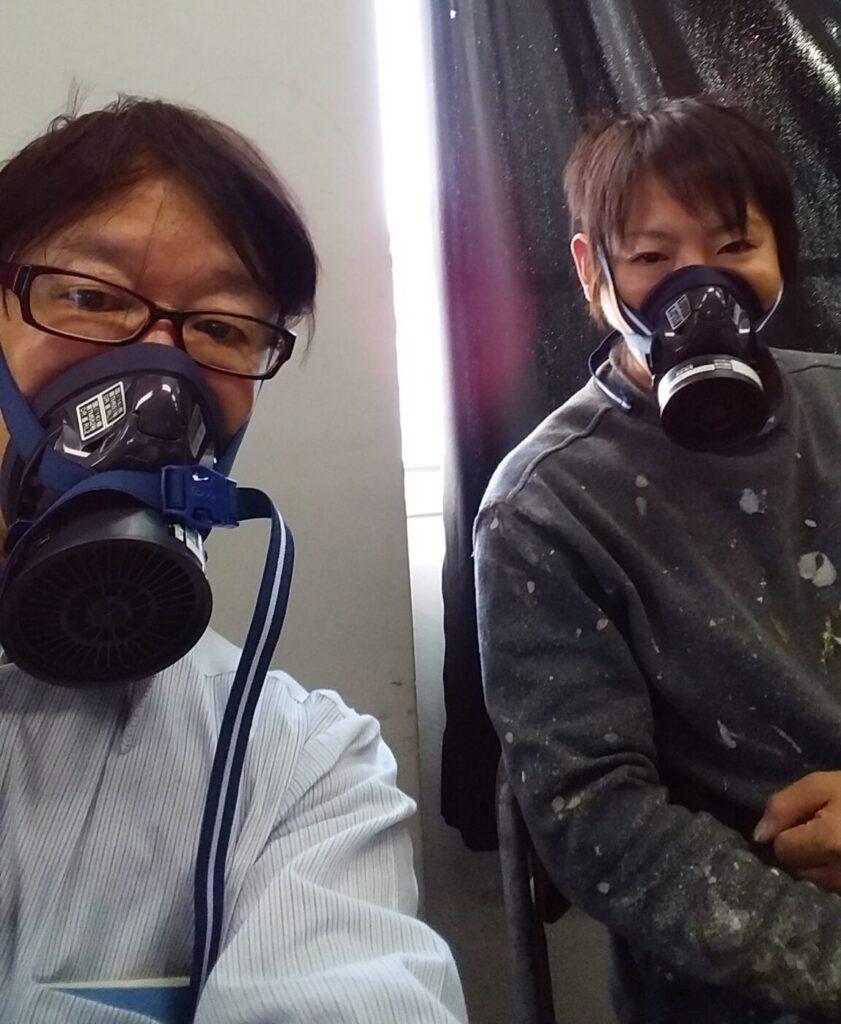 塗装作業での死亡事故。