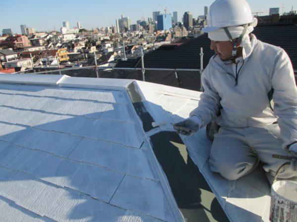 渋谷の屋根の上で