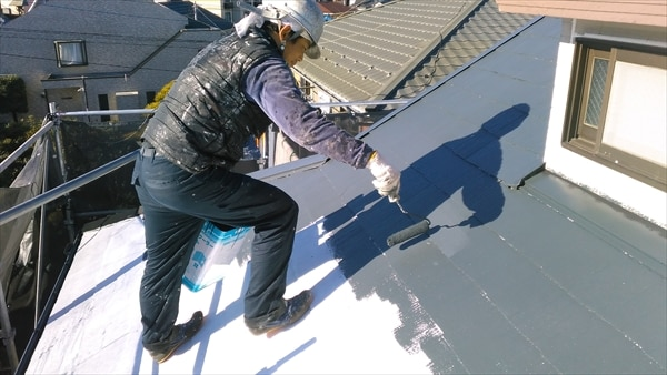 築23年、サイディング塗装と屋根の遮熱とベランダ防水