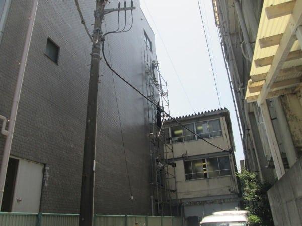 世田谷のオフィスビルの工事完了しました