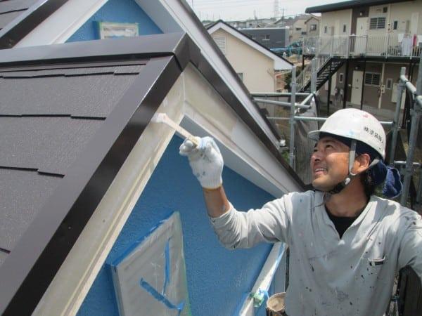 鶴見区のお客様が自宅の壁を塗装しました