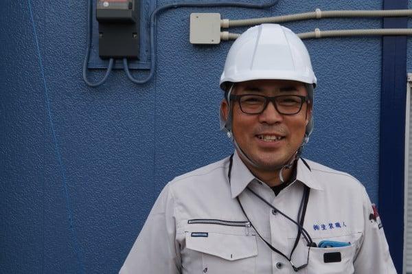 防水工事が得意な松尾です。